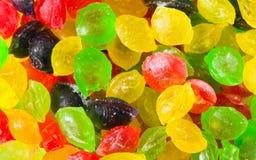 De dalingen van het suikergoed Royalty-vrije Stock Foto