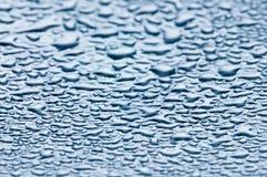 De dalingen van het water - condensatie Stock Foto's