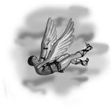 De dalingen van Icarus Stock Afbeeldingen