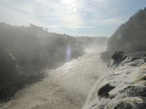 De Dalingen van Iguaçu Stock Foto
