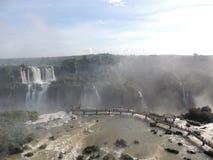 De Dalingen van Iguaçu Royalty-vrije Stock Afbeeldingen