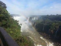 De Dalingen van Iguaçu Royalty-vrije Stock Afbeelding
