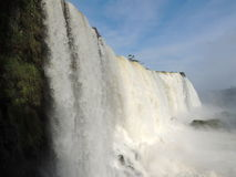 De Dalingen van Iguaçu Royalty-vrije Stock Foto