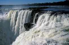 De Dalingen van Iguacu Stock Fotografie