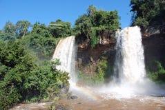 De Dalingen van Iguassu Stock Foto's