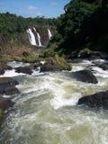 De Dalingen van Iguazu - 2 stock fotografie