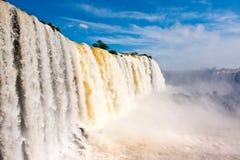 De dalingen van Iguazu. Stock Afbeelding