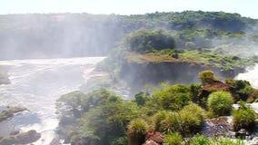 De Dalingen van Iguazu stock video