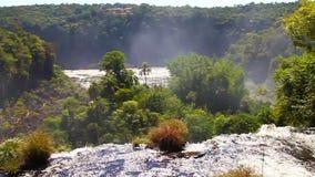 De Dalingen van Iguazu stock footage