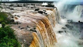 De Dalingen van Iguazu Stock Foto