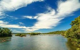 De Dalingen van Iguazu Stock Fotografie