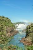 De Dalingen van Iguazu Stock Afbeeldingen