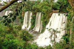 De Dalingen van Iguazu stock foto's