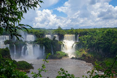 De Dalingen van Iguazu royalty-vrije stock foto