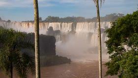 De dalingen van Iguazu van Argentinië royalty-vrije stock foto's