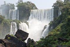 De dalingen van Iguazu, Argentinië Royalty-vrije Stock Foto