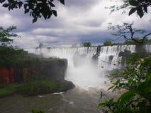 De Dalingen van Iguazu, Argentinië stock fotografie