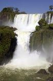 De Dalingen van Iguazu - Brazilië Royalty-vrije Stock Foto's