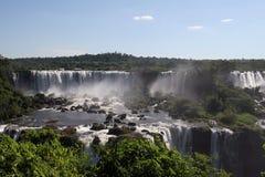 De Dalingen van Iguazu, Brazilië Royalty-vrije Stock Foto's