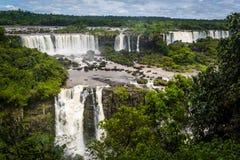 De Dalingen van Iguazu, Brazilië stock foto