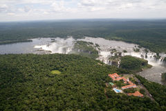 De Dalingen van Iguazu, Zuid-Amerika Royalty-vrije Stock Fotografie