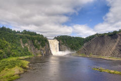 De Dalingen van Montmorency, Quebec, Canada Royalty-vrije Stock Foto