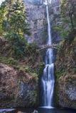 De Dalingen van Multnomah van de Kloof Oregon van de Rivier van Colombia Stock Foto