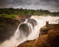 De Dalingen van Murchison, Oeganda royalty-vrije stock foto's