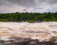 De Dalingen van Murchison, Oeganda stock afbeelding