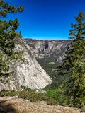 De dalingen van Nevada, yoesmite nationaal park, de V.S. stock afbeelding