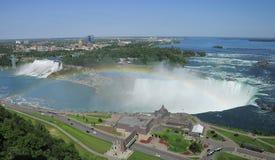 De dalingen van Niagara. Ontario. Canada. Stock Foto's
