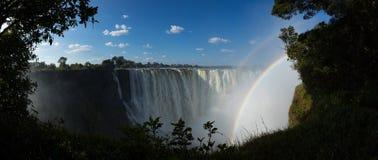 De Dalingen van Victoria, Zimbabwe Stock Foto's