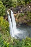 De dalingen van Wailua van Kauai royalty-vrije stock afbeelding