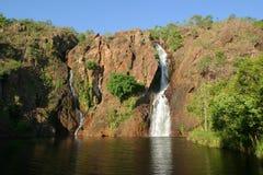 De Dalingen van Wangi. Het Nationale Park van Litchfield. Austra royalty-vrije stock afbeelding