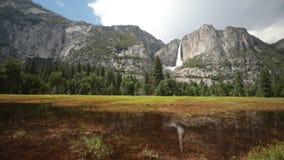 De Dalingen van Yosemite stock video
