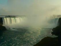 De dalingenpanorama I van Niagara Stock Afbeeldingen