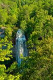 De dalingskreek valt de waterval van Tennessee royalty-vrije stock foto