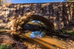 De dalingslandschap van Arkansas, Petit Jean-park van de staat Royalty-vrije Stock Fotografie