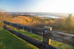 De dalingslandschap van Vermont Stock Afbeeldingen