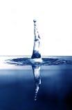De dalingsplons van het water royalty-vrije stock afbeeldingen