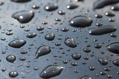 De dalingstextuur van het water   Stock Afbeeldingen