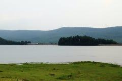 De dam Stock Afbeeldingen