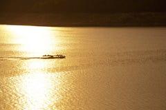 De dam Bhumibol in Thailand. Royalty-vrije Stock Foto