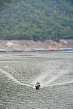 De dam Bhumibol in Thailand Royalty-vrije Stock Foto's