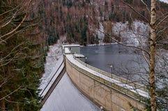 De dam - Krimov Stock Afbeelding
