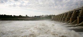 De Dam Tailwaters van het Gavinspunt Royalty-vrije Stock Afbeeldingen