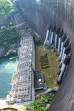 De dam van Bhumibol Stock Afbeelding