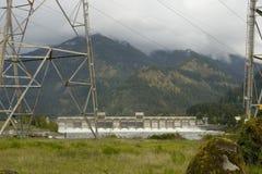 De Dam van Bonneville Royalty-vrije Stock Afbeeldingen