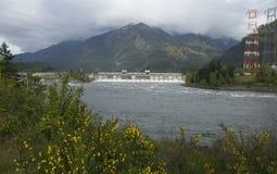 De Dam van Bonneville Royalty-vrije Stock Foto's