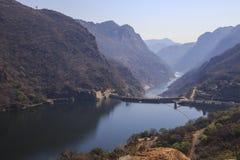 De Dam van Cahorabassa stock fotografie
